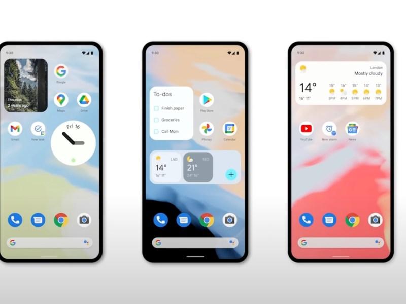 Android 12 Widgets Head