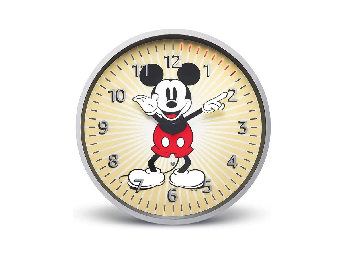 Disney Micky Maus Amazon Echo Wall Clock