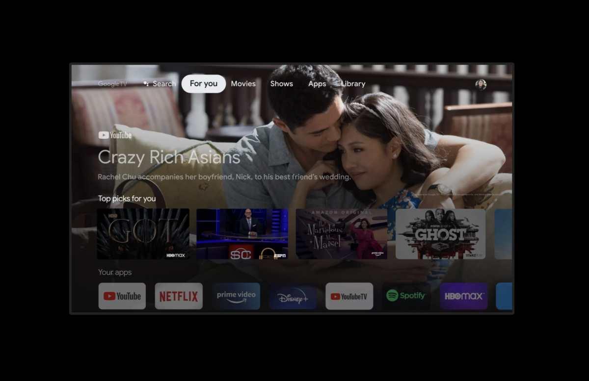 Google Tv Startbildschirm