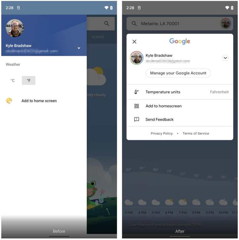 Google Update Wetter App 2021 Vergleich