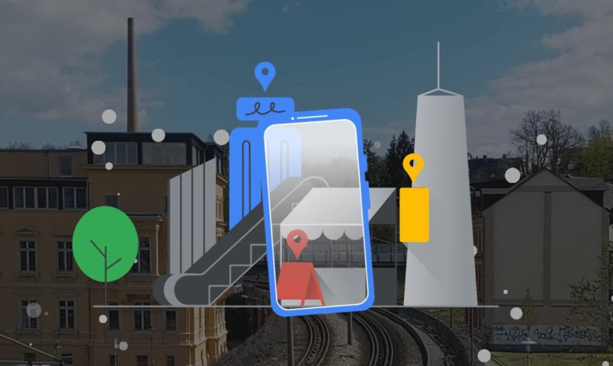 Live View Google Maps Head