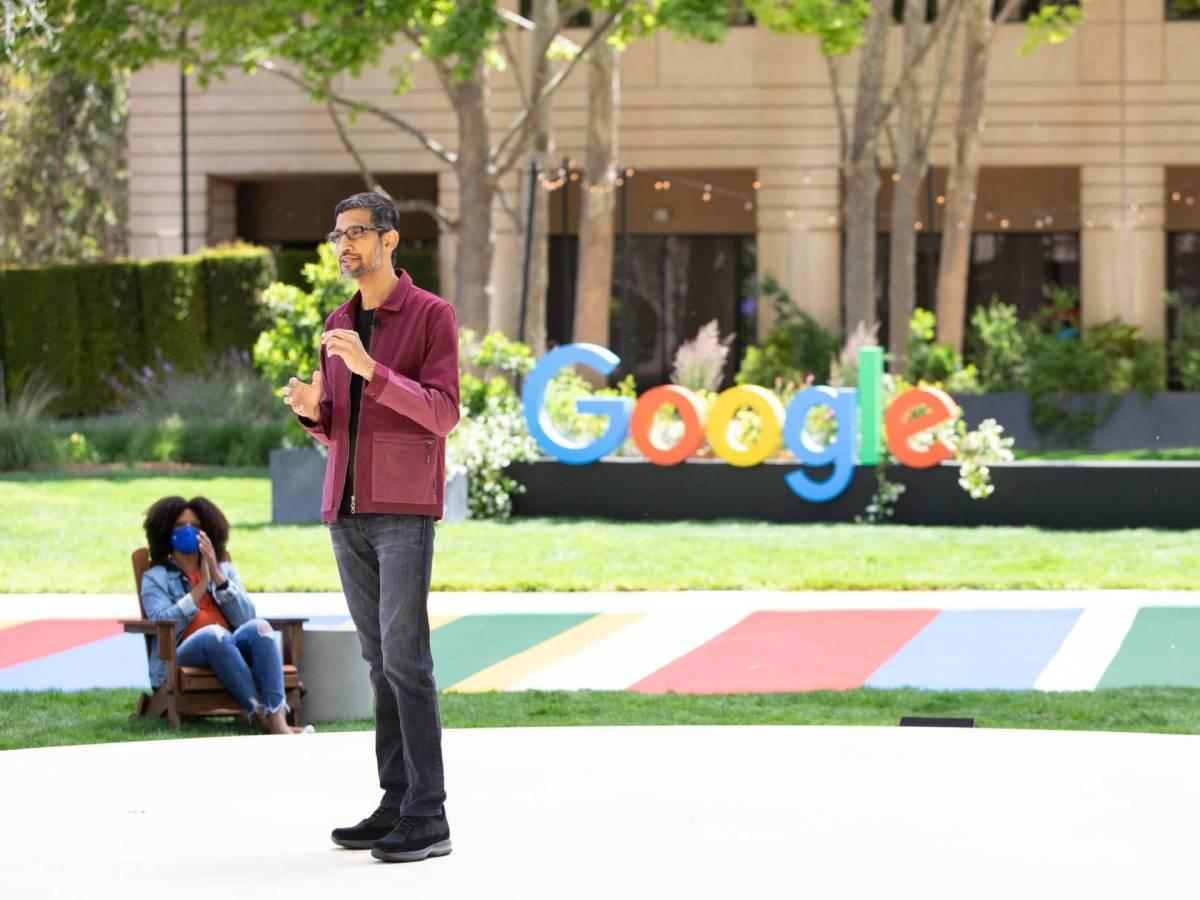 Sundar Pichai Ceo Google Io 2021