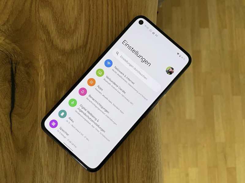 Android 12 Einstellungen Head
