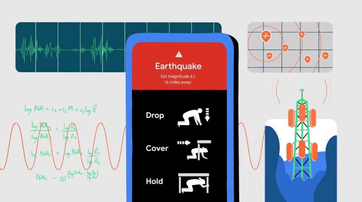 Android Erdbebenerkennung