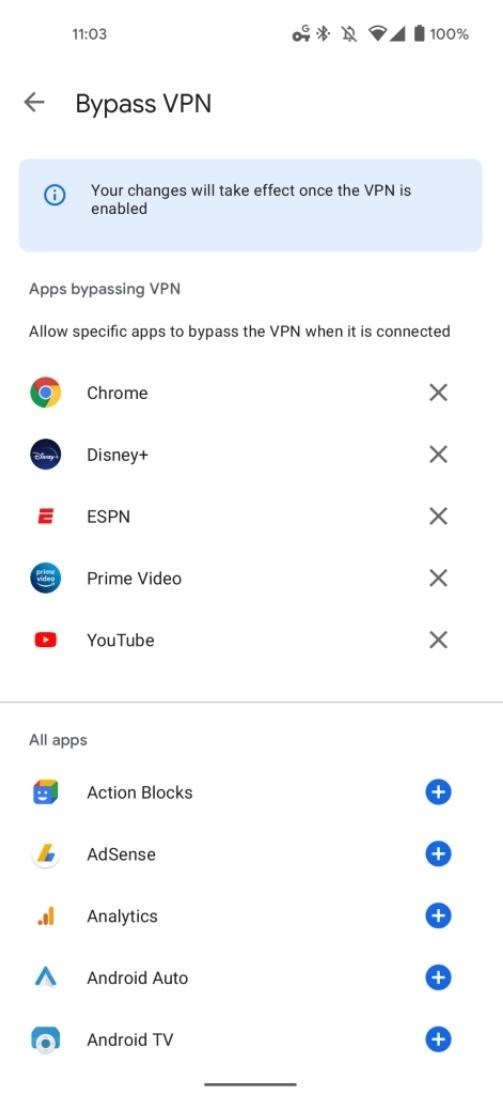 Bypass Google One Vpn