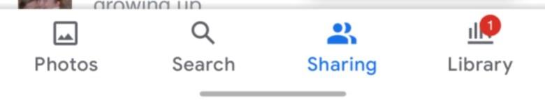 Google Fotos Navigationsleiste Neu
