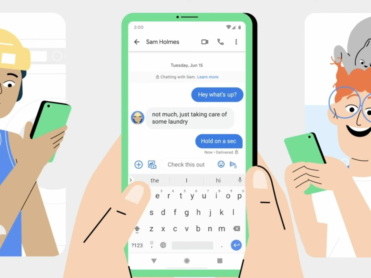 Google Messages Head
