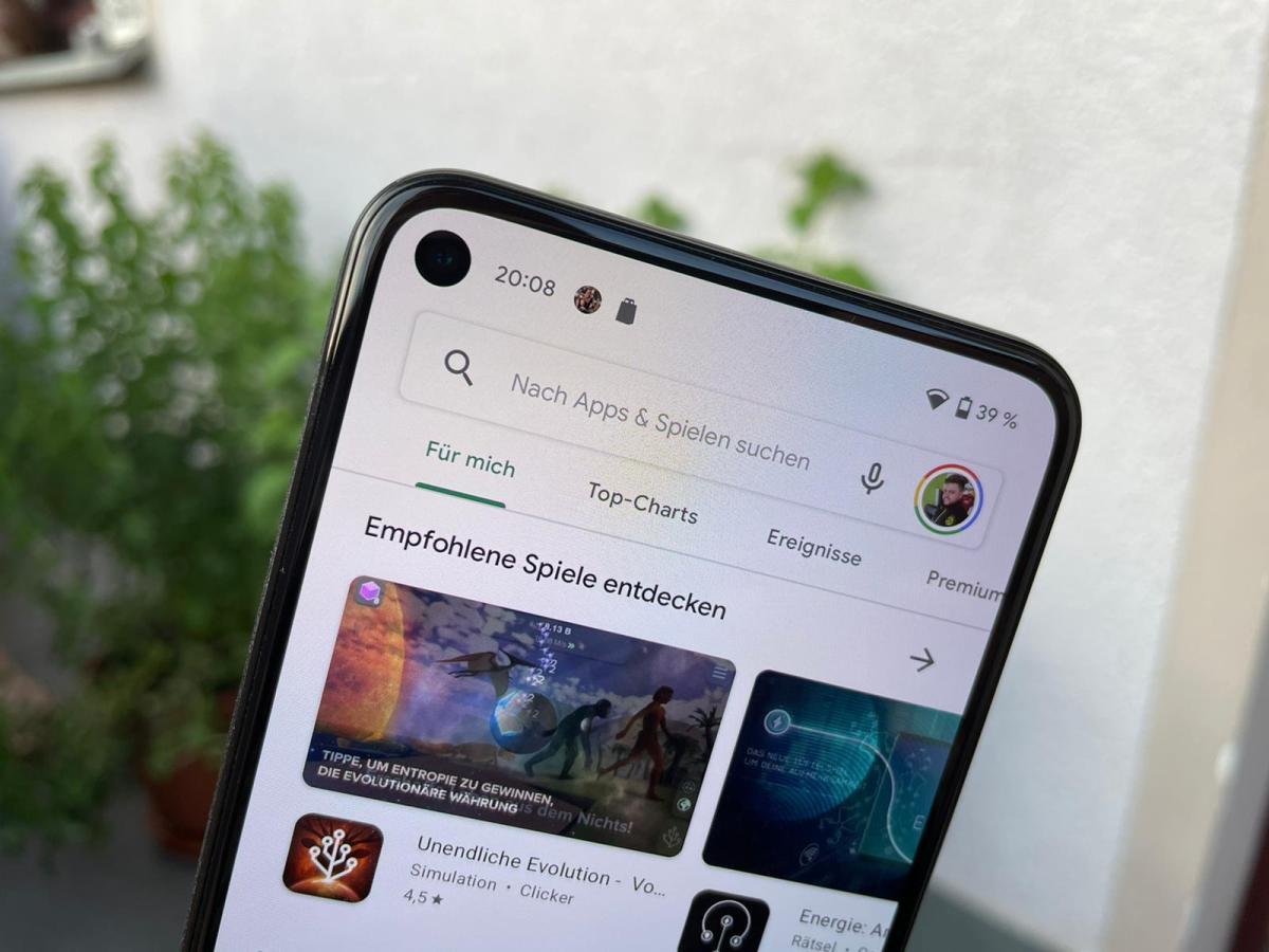 Google Play Store Head