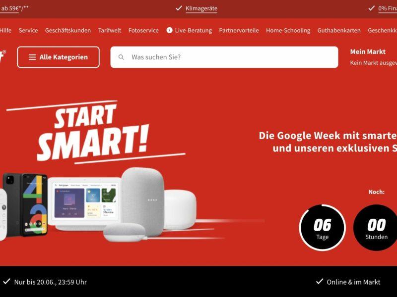 Mediamarkt Google Woche
