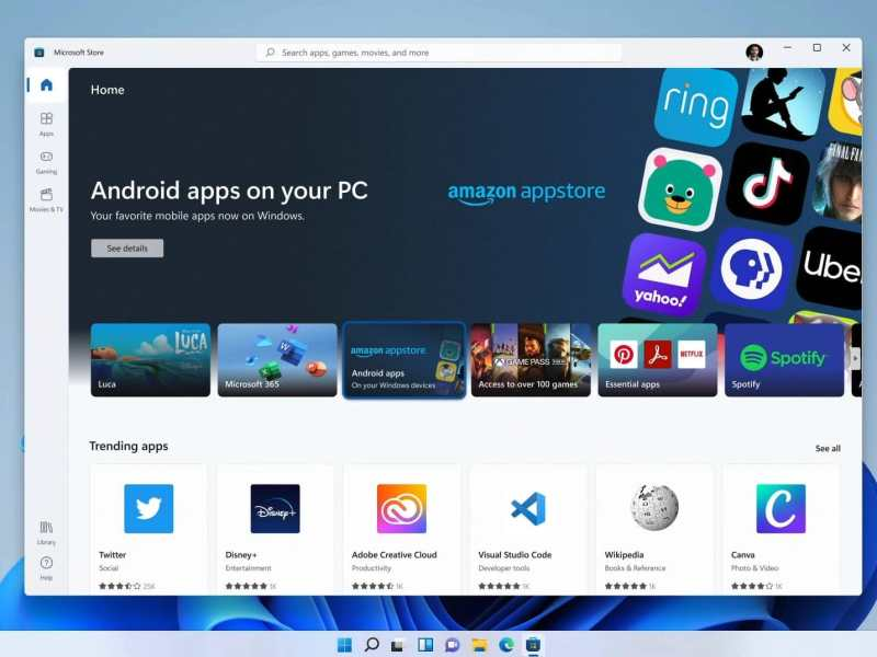 Windows 11 Android Apps