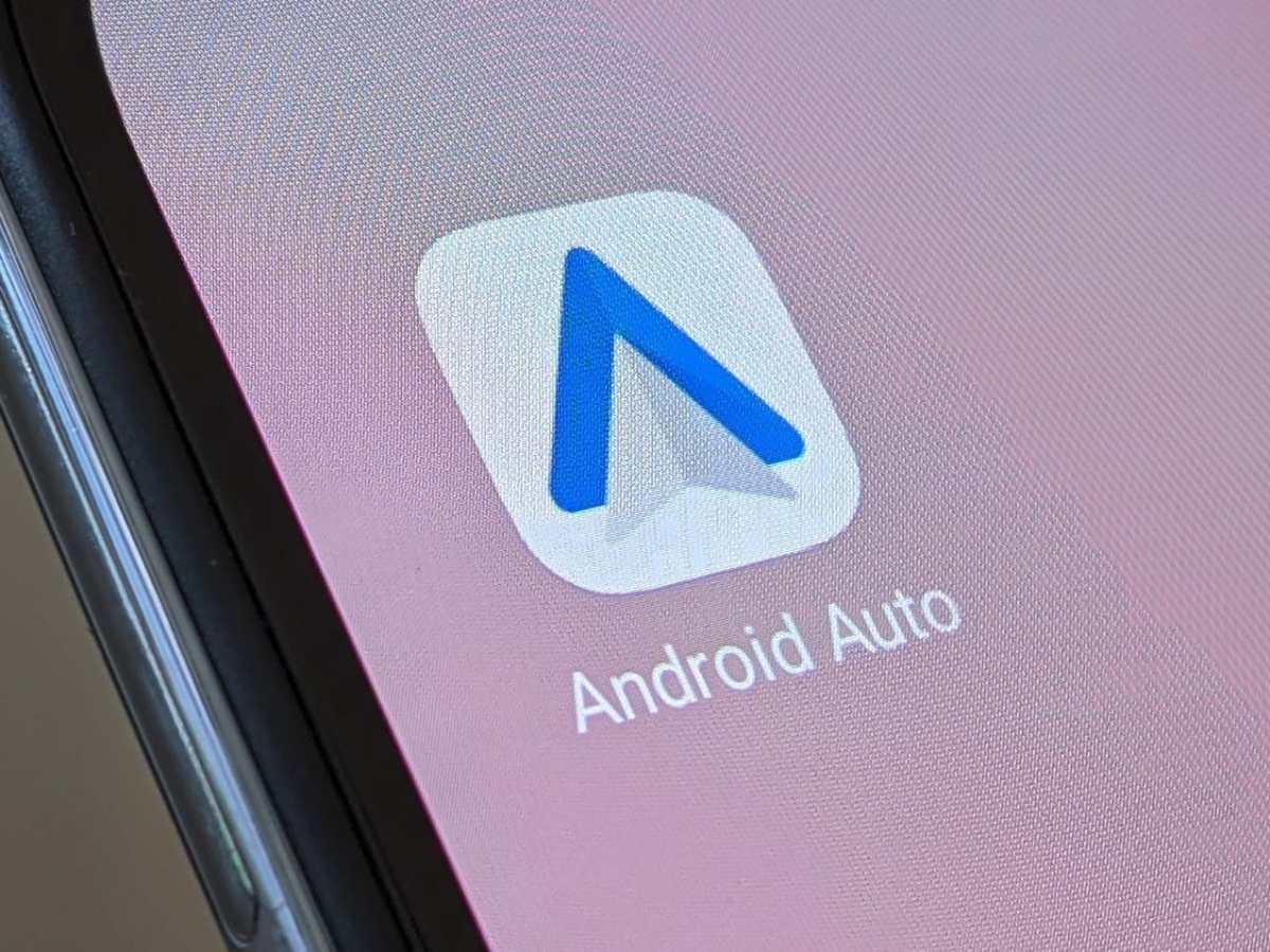 Android Auto Logo Head