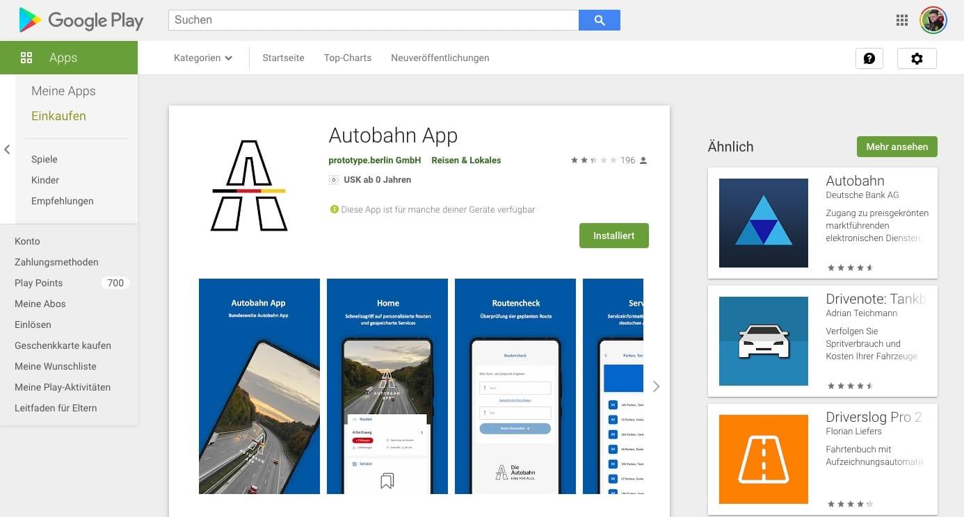Geldverschwendung: Nutzer zerstören offizielle Autobahn-App