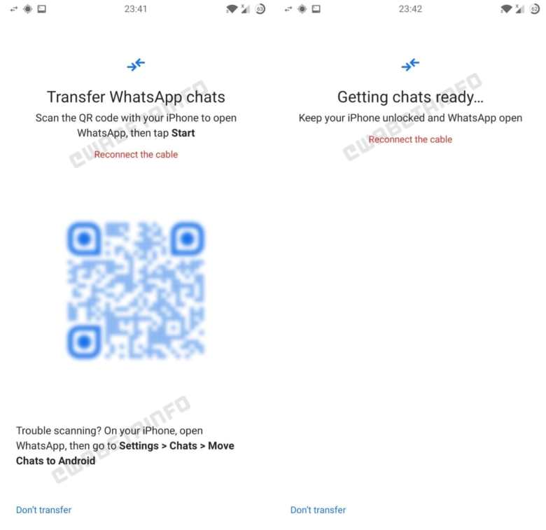 Switch To Android Whatsapp Leak