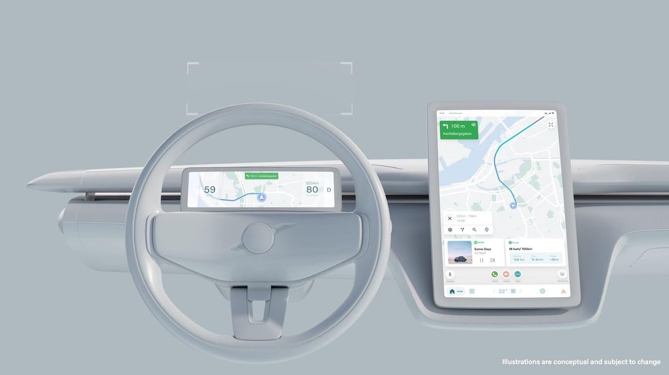 Volvo kombiniert Android Automotive OS und Eigenlösungen