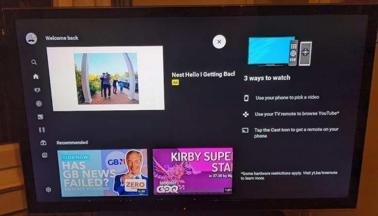 Youtube App Chromecast