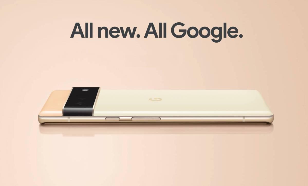 All New. All Google. Pixel 6 Head