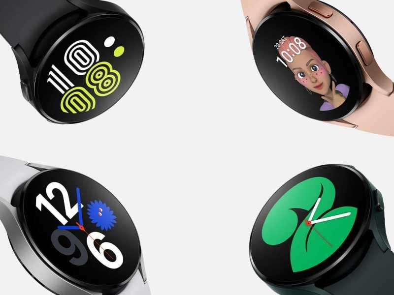 Samsung Galaxy Watch 4 Head Ohne Schriftzug