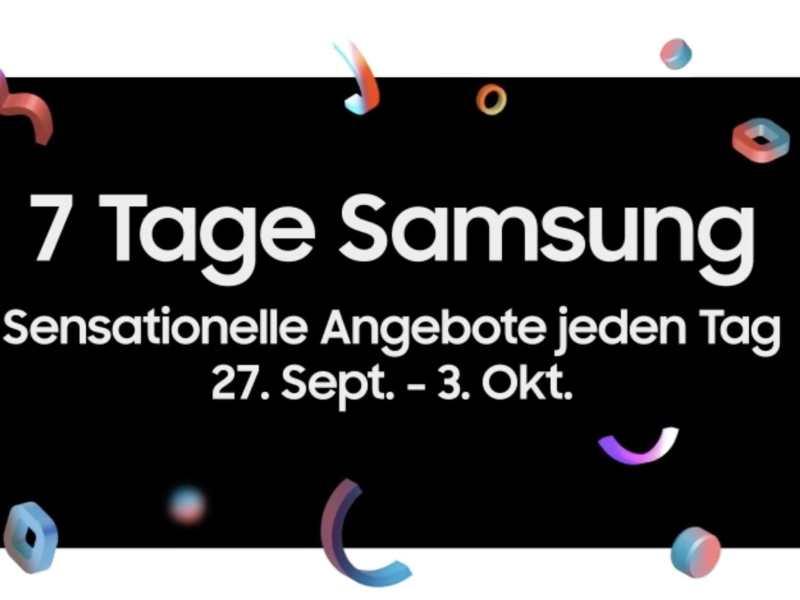 7 Tage Samsung Angebote Amazon