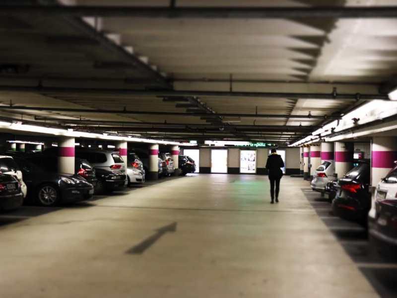 Autos Parkhaus