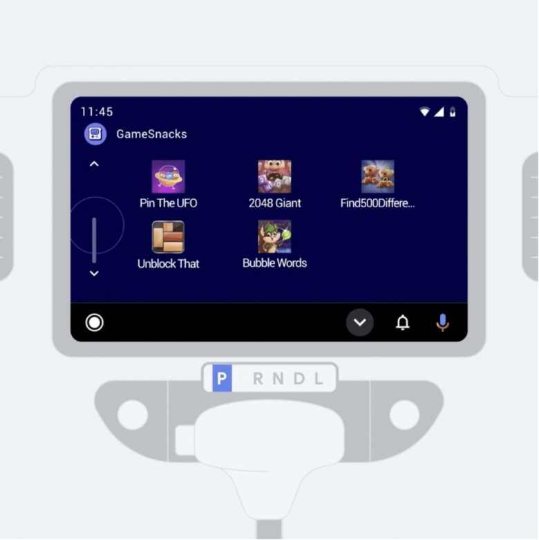 Gamesnacks Android Auto