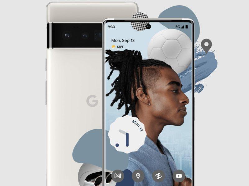 Google Pixel 6 Pro Head