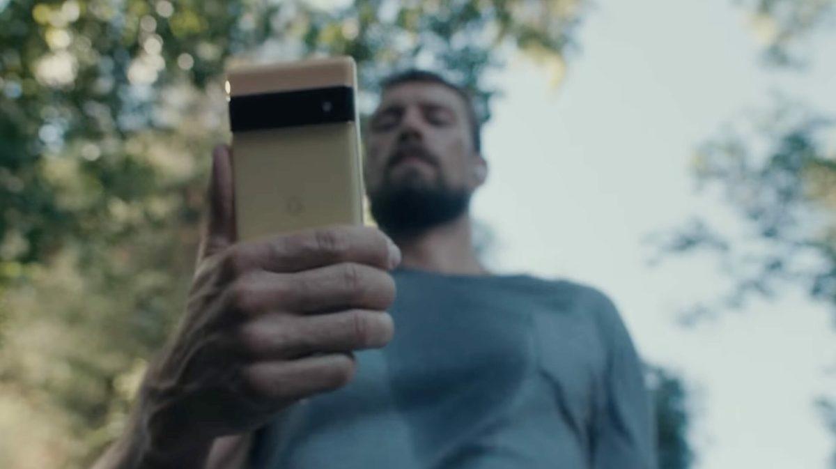 Google Pixel 6 Teaser Gold