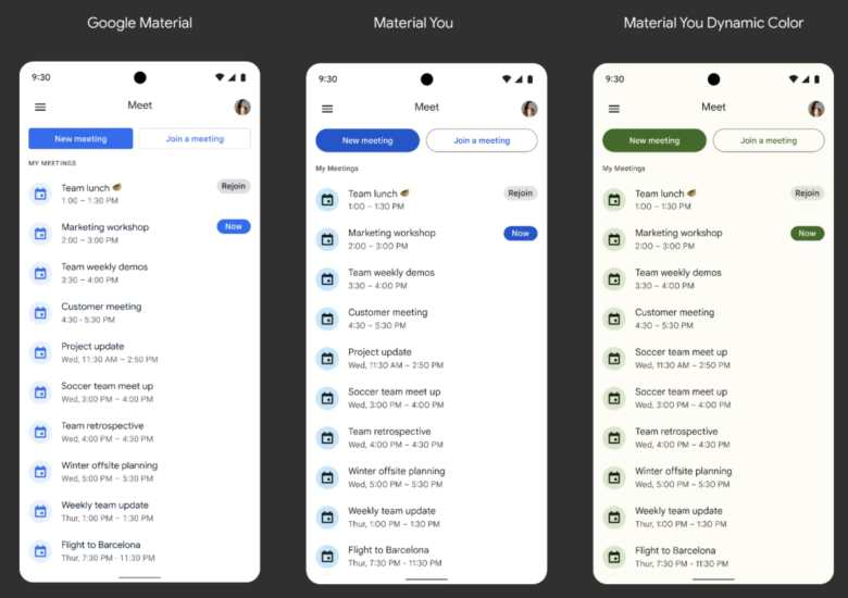 Google Workspace Apps Material You4