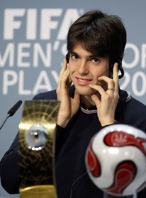 FBL-FIFA-PLAYER-AWARD-BRA-KAKA