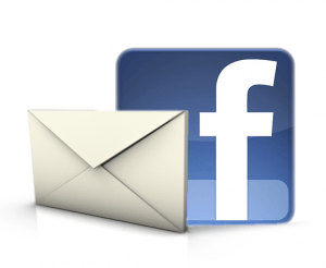 Facebook page email updates