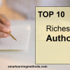 Top 10 Richest Authors in 2012