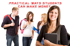 how students can earn money