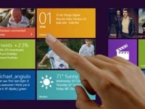 Windows 8 touch input