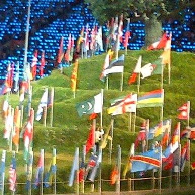 flags of countries taking part in olympics 2012