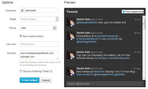 Tweet Timeline