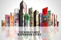expensive cities in 2012