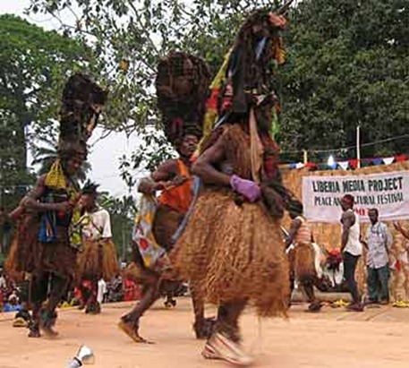 liberian people shows variety of culture