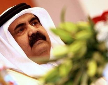 Sheikh Hamad bin Khalifa al-Thani of Qatar