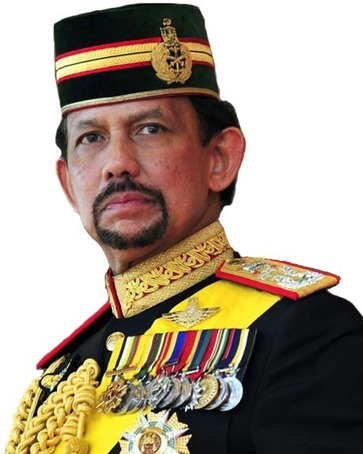 )Sultan Haji Hassanal Bolkiah of Brunei