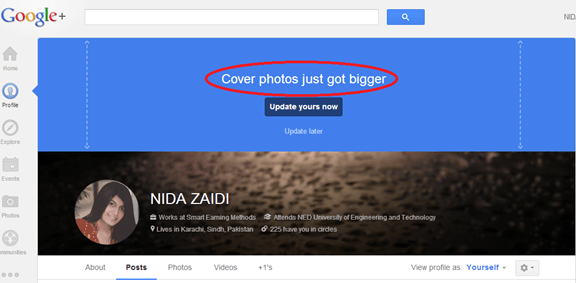 google cover photo