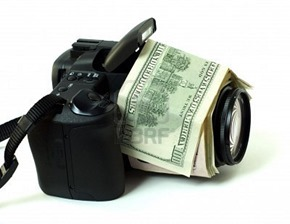money and portrait photography