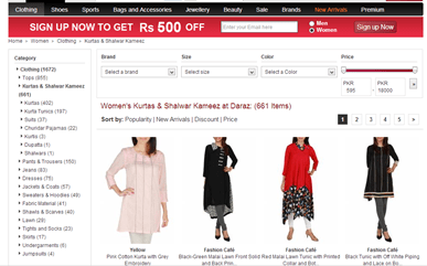 online shopping in pakistan daraz.pk