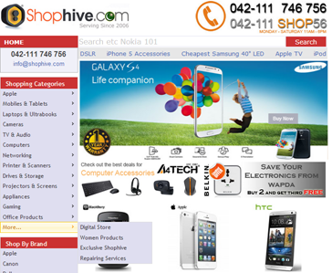 online shopping in pakistan shophive
