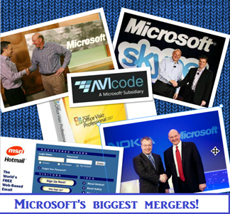 Biggest Mergers and Acquisitions by Microsoft