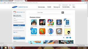 Samsung Apps platform to sell mobile apps on