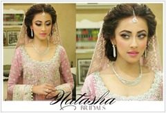 Natasha's popular salon for brides in Pakistan