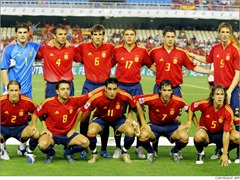 Spain football team that may win FIFA