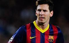 Lionel Messi popular social media footballer