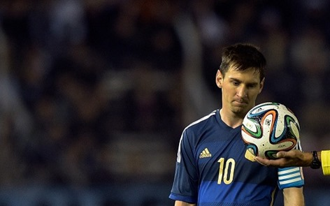 MESSI IN FIFA 2014 FINALE