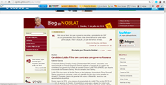 Noblat Most Prominent Blogs in Brazil In 2014