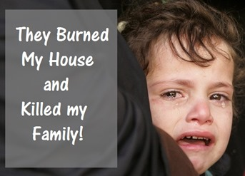 Palestine again Burns- Wake up World